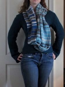 sky scarf